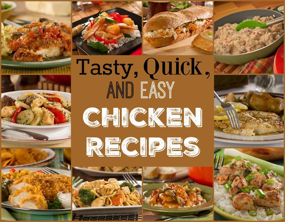 Tasty Dinner Recipes  14 Tasty Quick & Easy Chicken Recipes