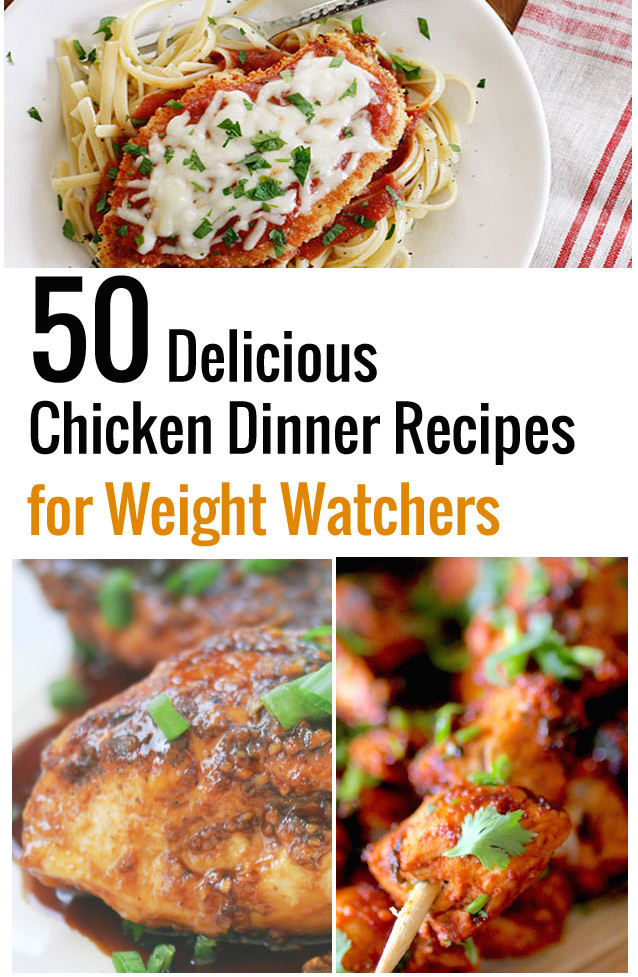 Tasty Dinner Recipes  50 Delicious Chicken Dinner Recipes for Weight Watchers