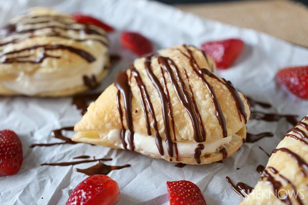 Tasty Easy Desserts  Easy heart shaped napoleons