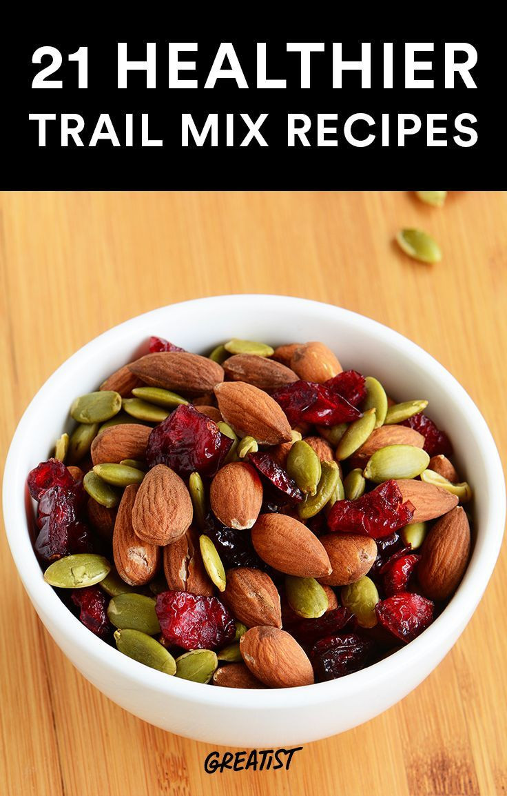 Tasty Healthy Snacks  21 Healthier Trail Mix Recipes to Make Yourself