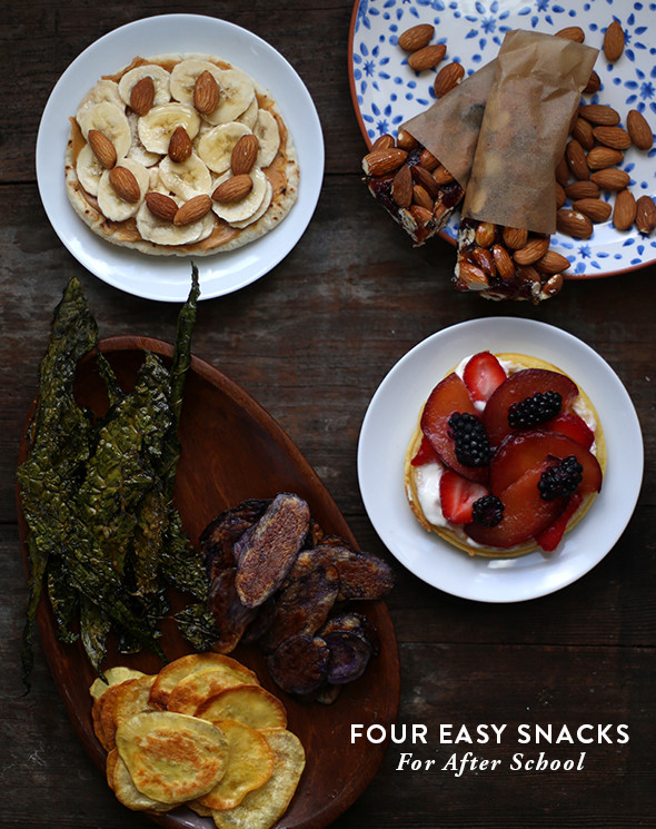 Tasty Healthy Snacks  4 Easy Delicious and Healthy After School Snacks Say Yes