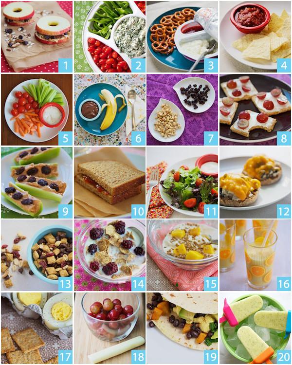 Tasty Healthy Snacks  Tasty Tuesday 20 Quick & Healthy Snack Ideas — Ebony