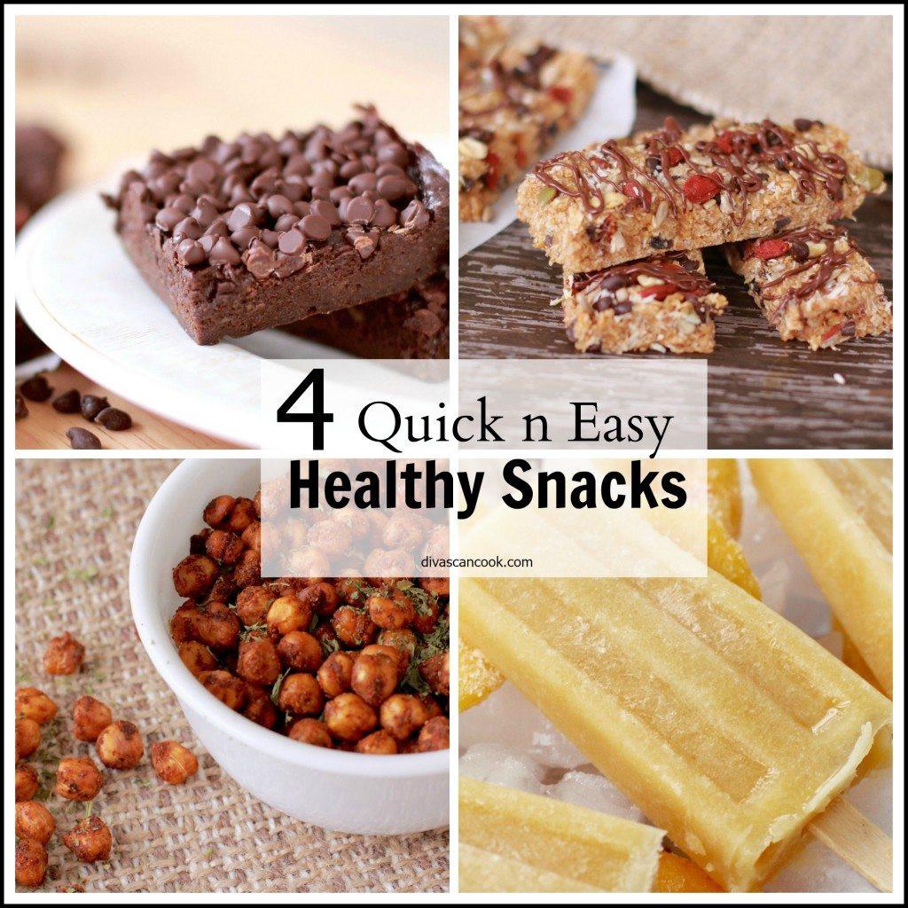 Tasty Healthy Snacks  Healthy Quick Snack Ideas