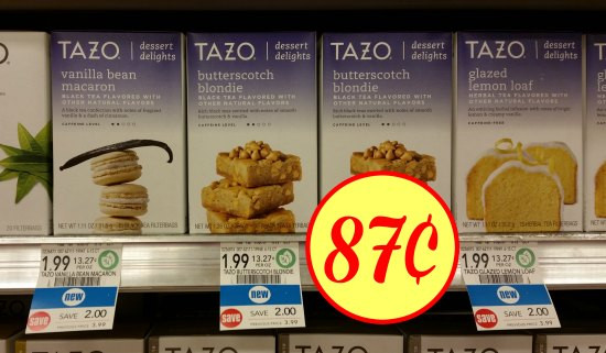 Tazo Tea Dessert Delights  New Tazo Tea Dessert Delights For Publix Sale As Low As