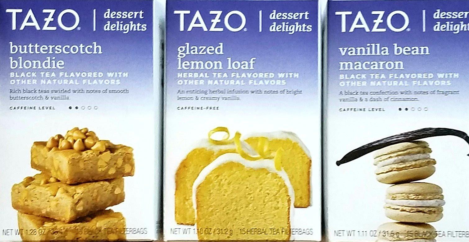 Tazo Tea Dessert Delights  Amazon Tazo Chai Tea Holiday Bundle 2 Items Tazo