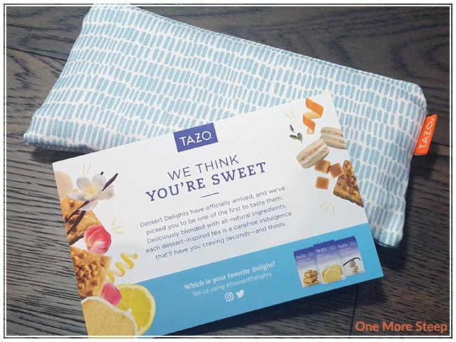 Tazo Tea Dessert Delights  Tazo's Dessert Delights Collection – e More Steep