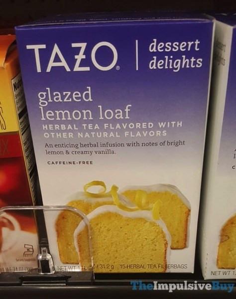 Tazo Tea Dessert Delights  SPOTTED ON SHELVES Tazo Dessert Delights Teas The