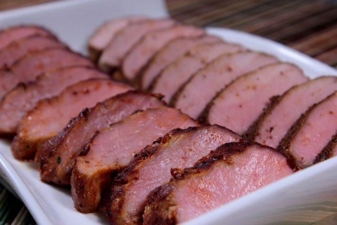 Temperature For Pork Loin  Smoked Pork Tenderloin So Lean and Delicious