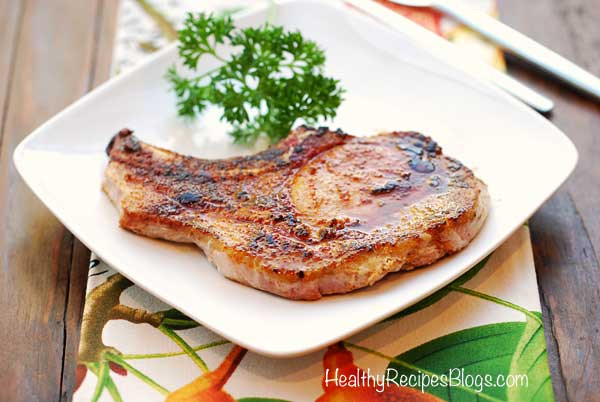 Temperature To Bake Pork Chops  Baked Pork Chops Easy and Healthy Recipe VIDEO