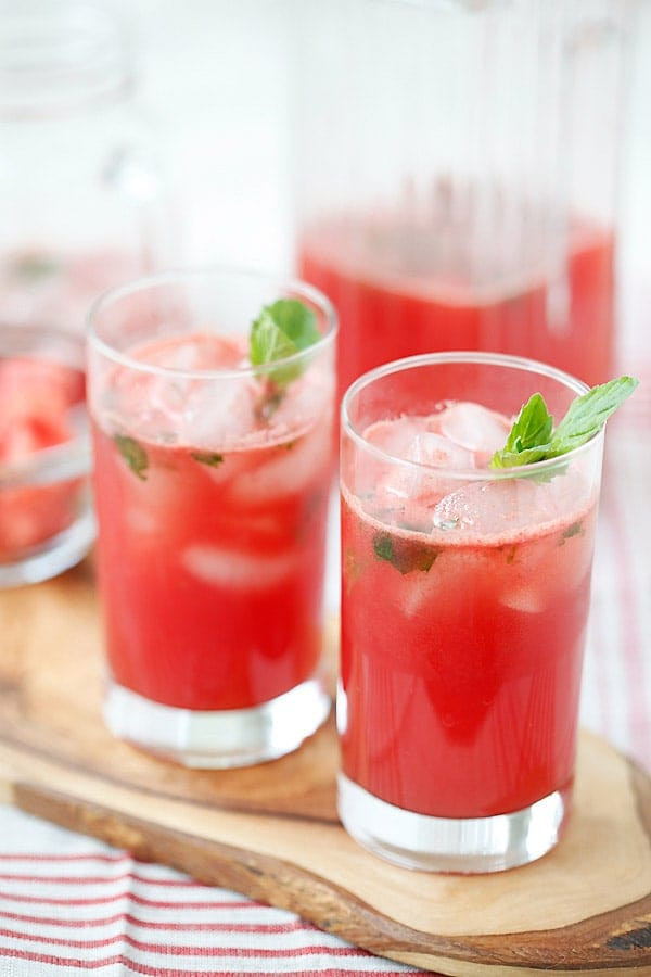 Tequila Drinks Recipe  Watermelon Tequila Cocktail