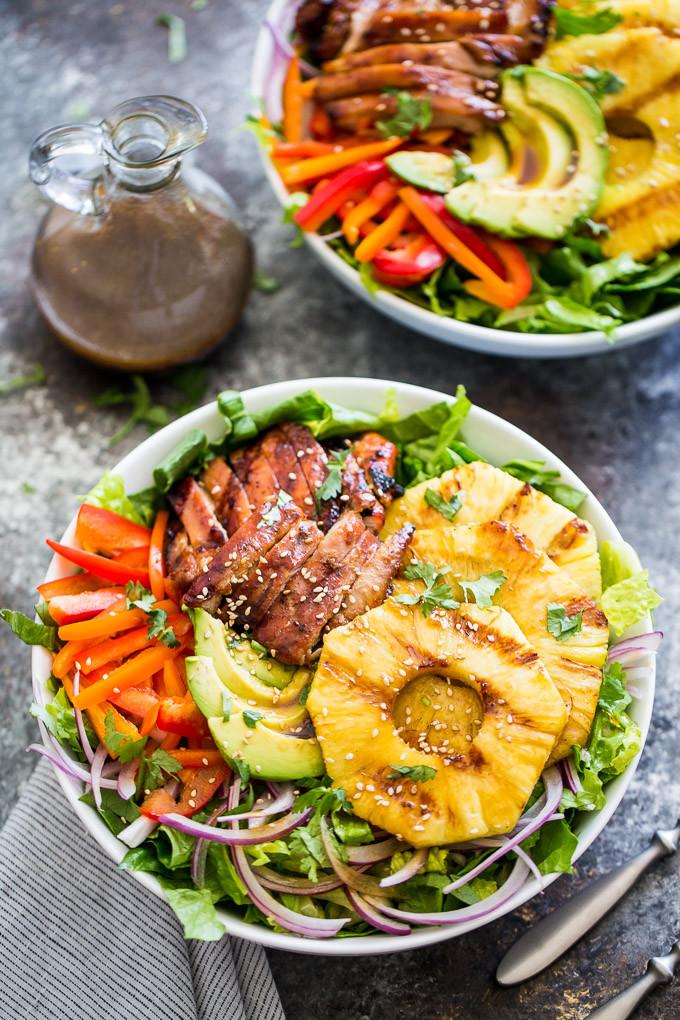 Teriyaki Chicken Salad  Grilled Teriyaki Chicken Salad
