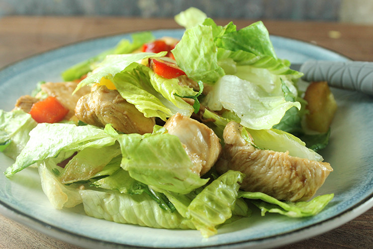 Teriyaki Chicken Salad  Teriyaki Chicken Salad Recipe