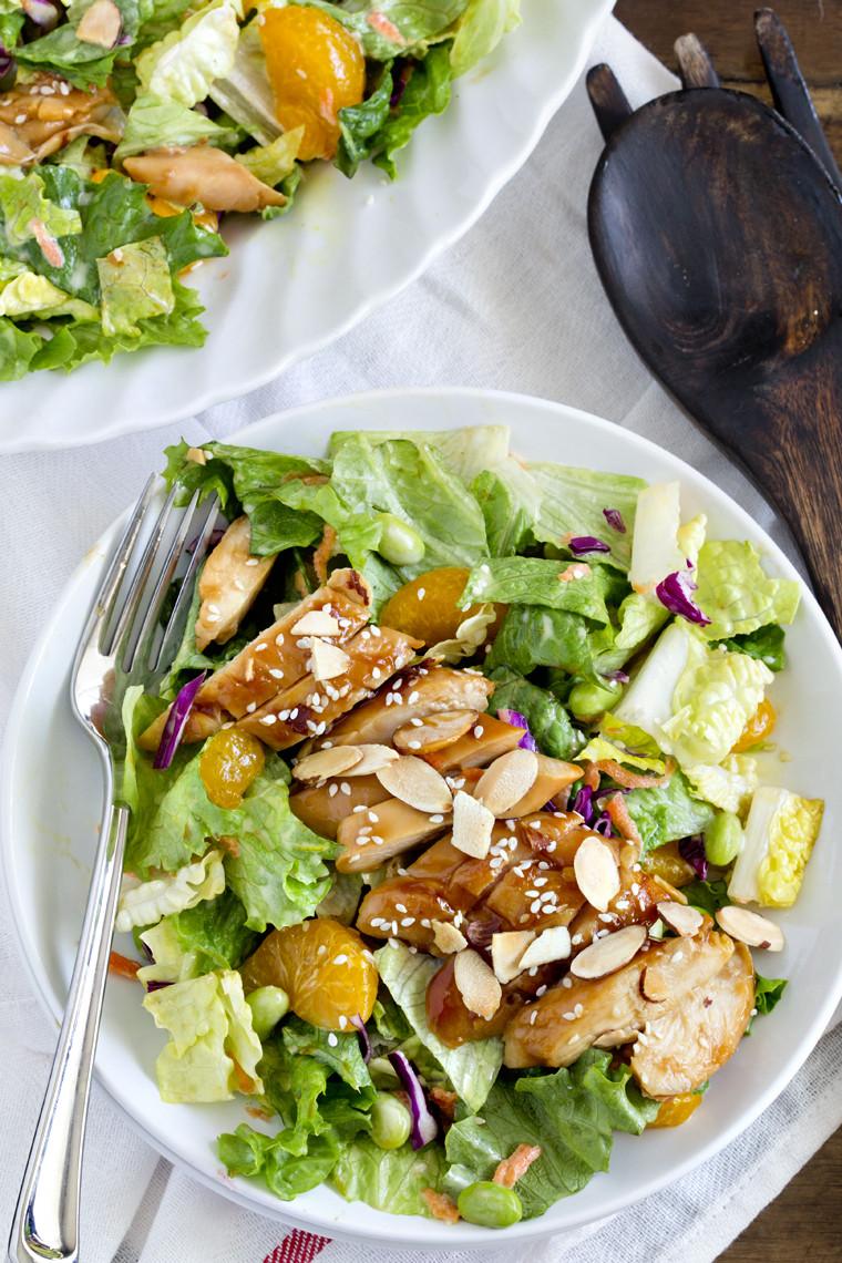 Teriyaki Chicken Salad  Teriyaki Chicken Salad Red Robin Copycat Yellow Bliss Road