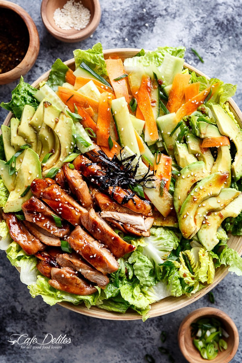 Teriyaki Chicken Salad  42 Weight Loss Dinner Recipes That Will Help You Shrink