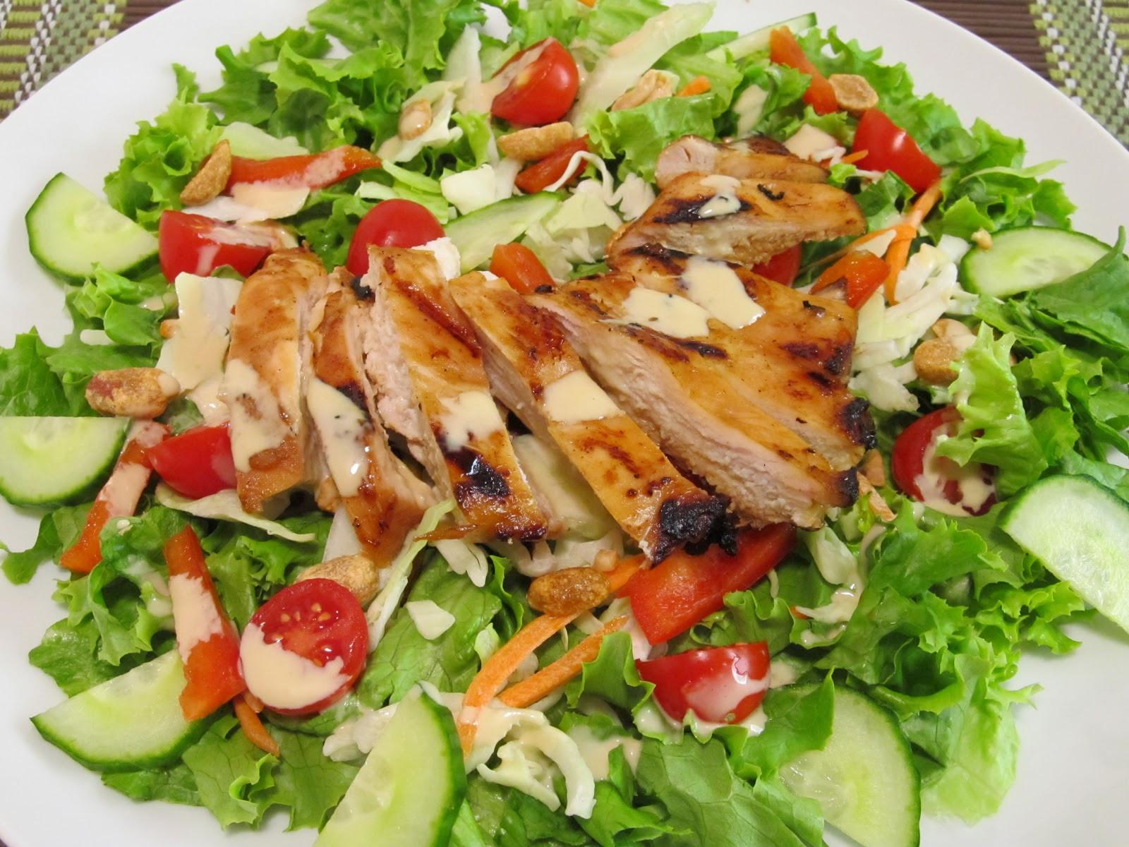 Teriyaki Chicken Salad  Bevaris Alliance Teriyaki Chicken Salad