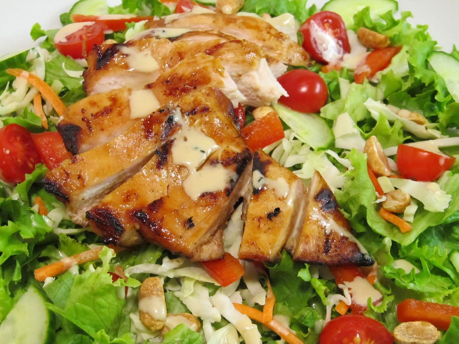 Teriyaki Chicken Salad  Jenn s Food Journey Grilled Teriyaki Chicken Salad with