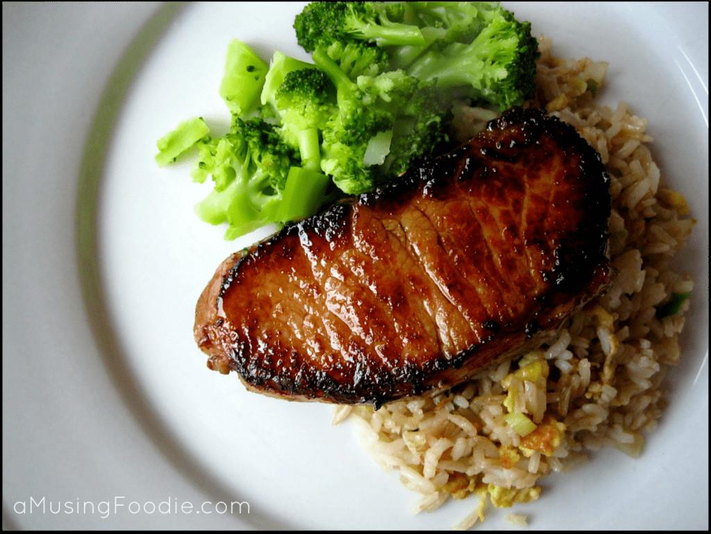 Teriyaki Pork Chops  Teriyaki Pork Chops a Musing Foo