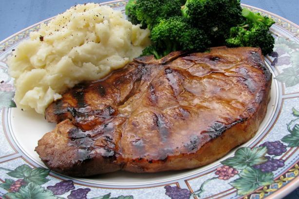 Teriyaki Pork Chops  Teriyaki Grilled Pork Chops Recipe Food