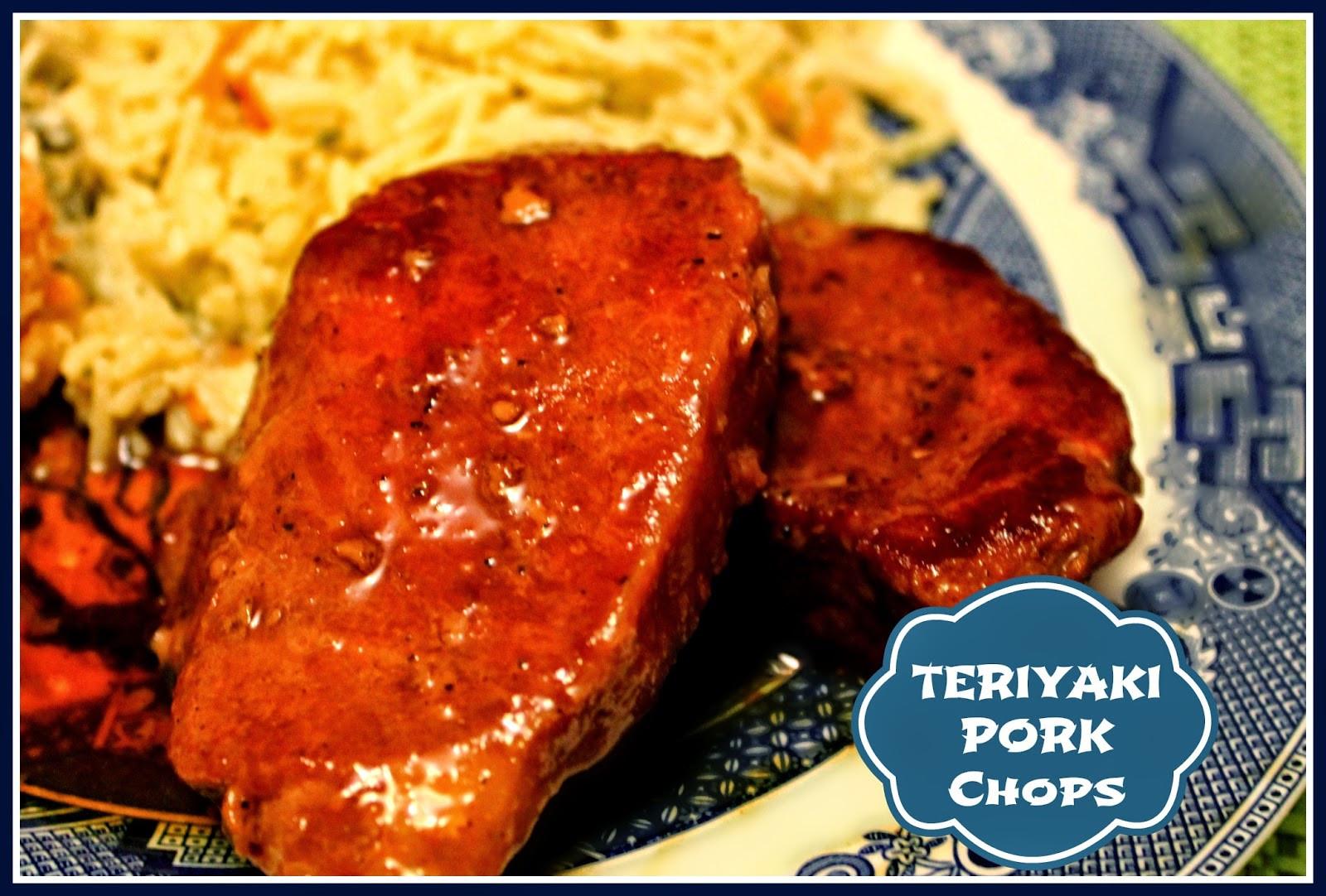 Teriyaki Pork Chops  Sweet Tea and Cornbread Teriyaki Pork Chops