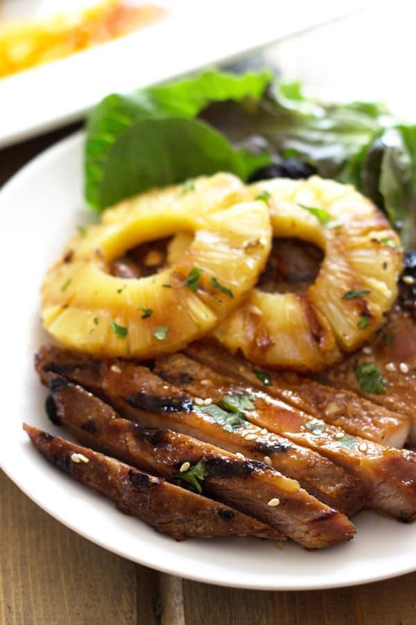 Teriyaki Pork Chops  Grilled Teriyaki Pork Chops