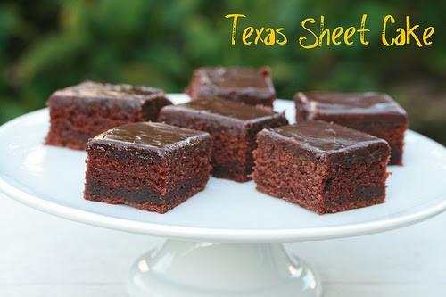 Texas Chocolate Sheet Cake  Food Librarian