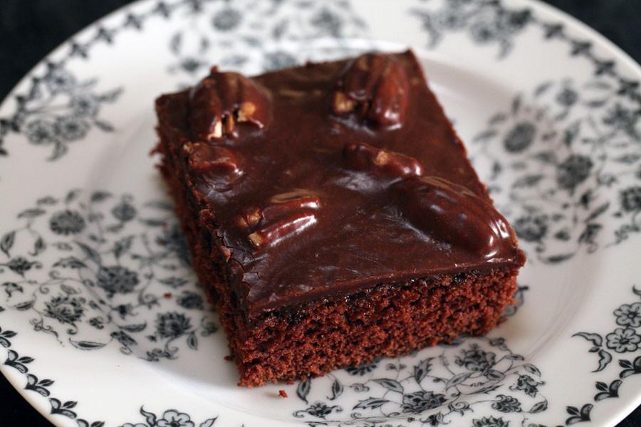 Texas Chocolate Sheet Cake  Texas Chocolate Sheet Cake