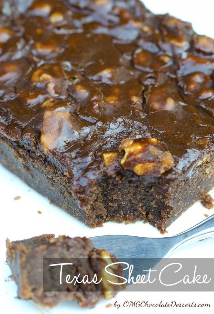 Texas Chocolate Sheet Cake  Texas Sheet Cake
