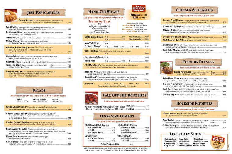 Texas Roadhouse Dessert Menu  Texas Roadhouse Menu and Prices 2019 RestaurantFoodMenu