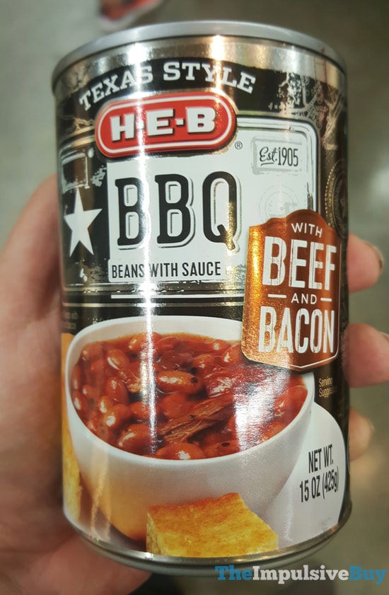 Texas Style Bbq Sauce  H E B Texas Style BBQ Beans with Sauce with Beef and Bacon