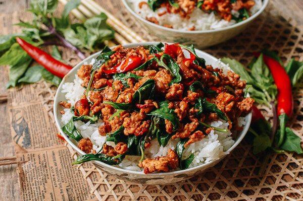 Thai Basil Recipes  10 Minute Thai Basil Chicken Easy Gai Pad Krapow The
