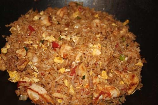 Thai Chicken Fried Rice  Thai Chicken Fried Rice