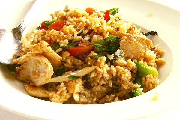 Thai Chicken Fried Rice  thai chicken fried rice recipe