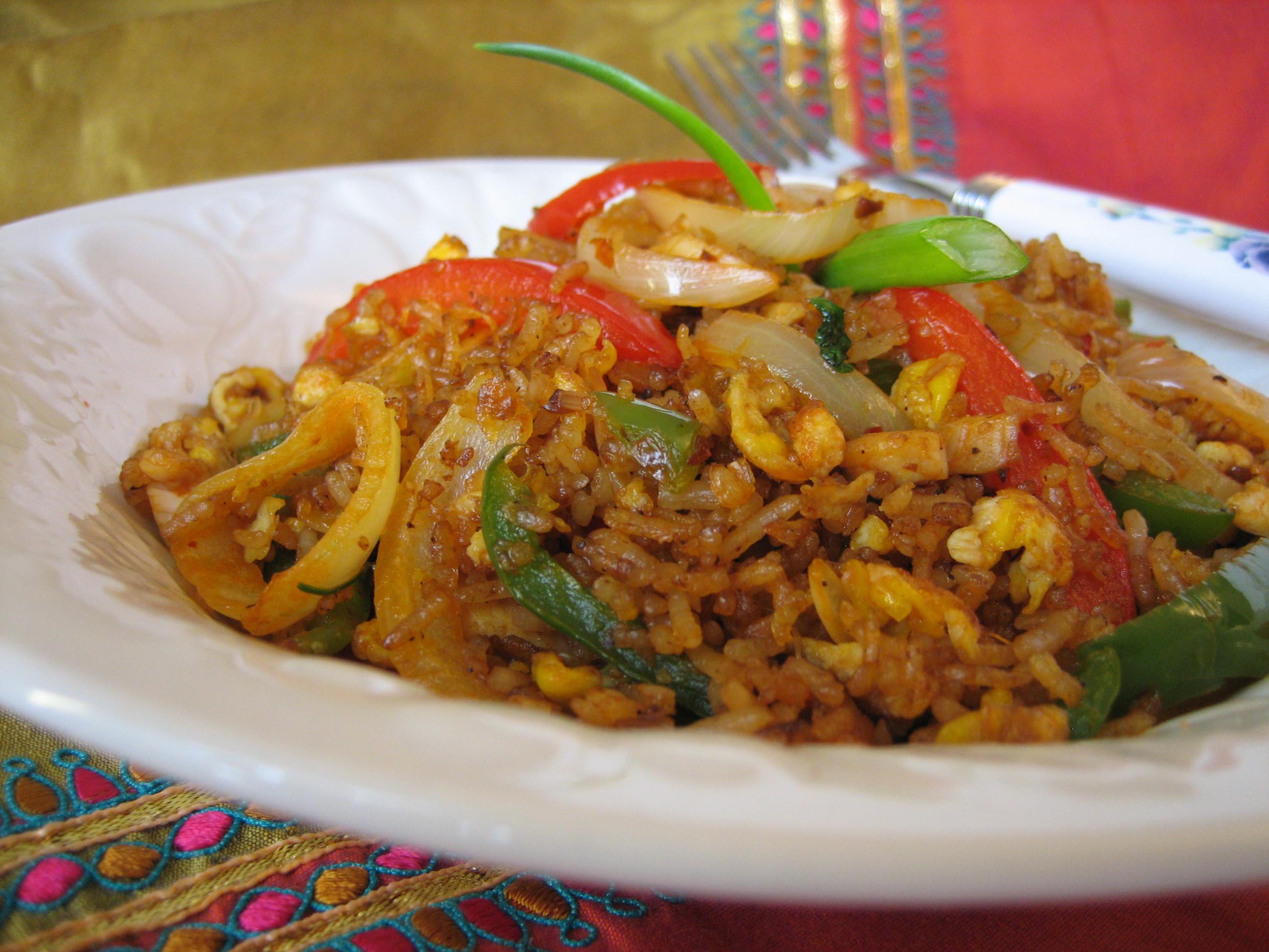 Thai Chicken Fried Rice  Thai Chicken Fried Rice – Khao Pad Gai