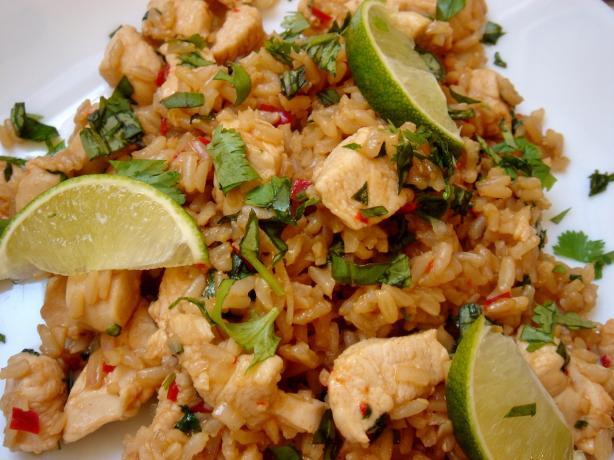 Thai Chicken Fried Rice  Thai Chicken Fried Rice With Basil Kao Pad Krapao Recipe