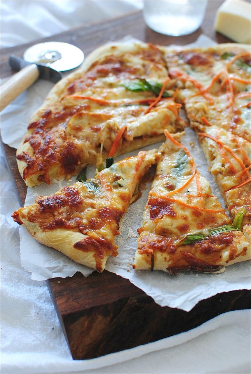 Thai Chicken Pizza  Thai Chicken Pizza