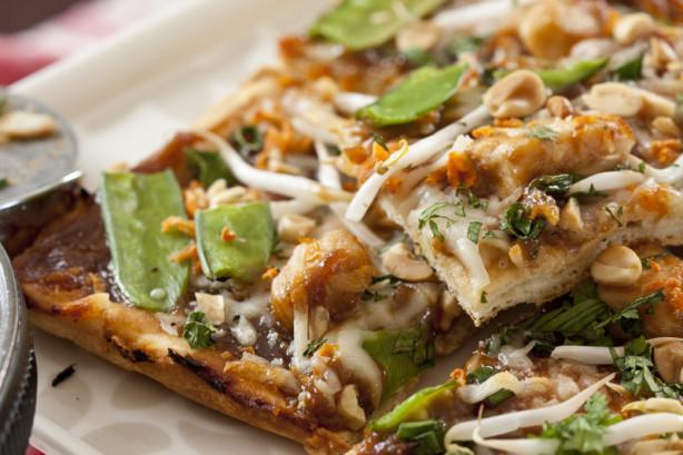 Thai Chicken Pizza  California Pizza Kitchen Thai Chicken Pizza Recipe Food