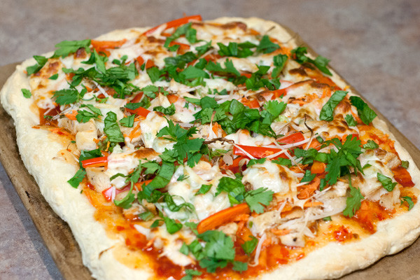 Thai Chicken Pizza  Thai Chicken Pizza – The Culinary Couple
