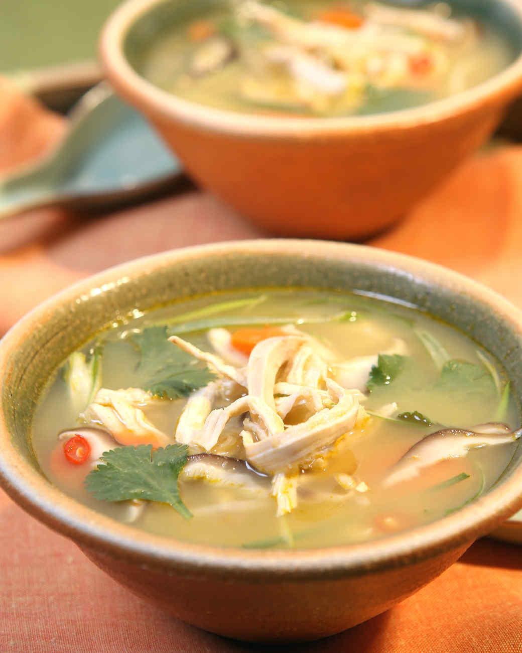 Thai Chicken Soup Recipe  Thai Chicken Soup Recipe & Video