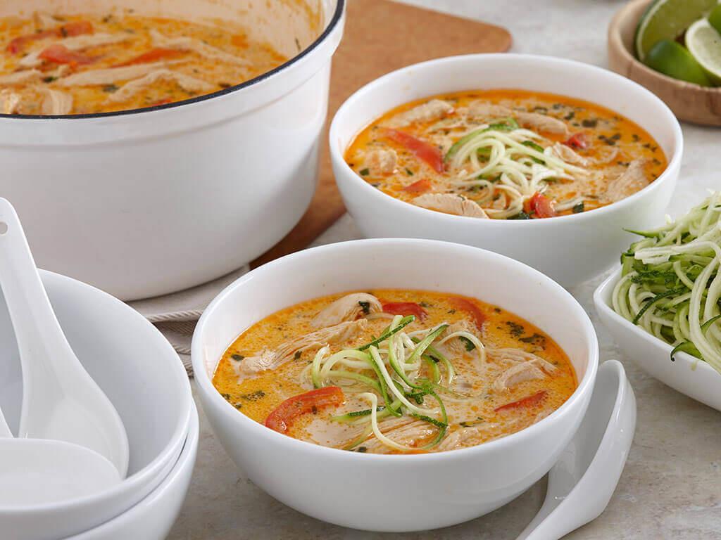 Thai Coconut Soup Recipes  Easy Thai Coconut Chicken Soup