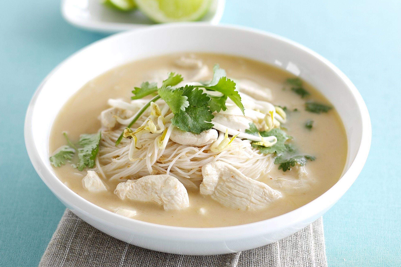 Thai Coconut Soup Recipes  thai food coconut soup