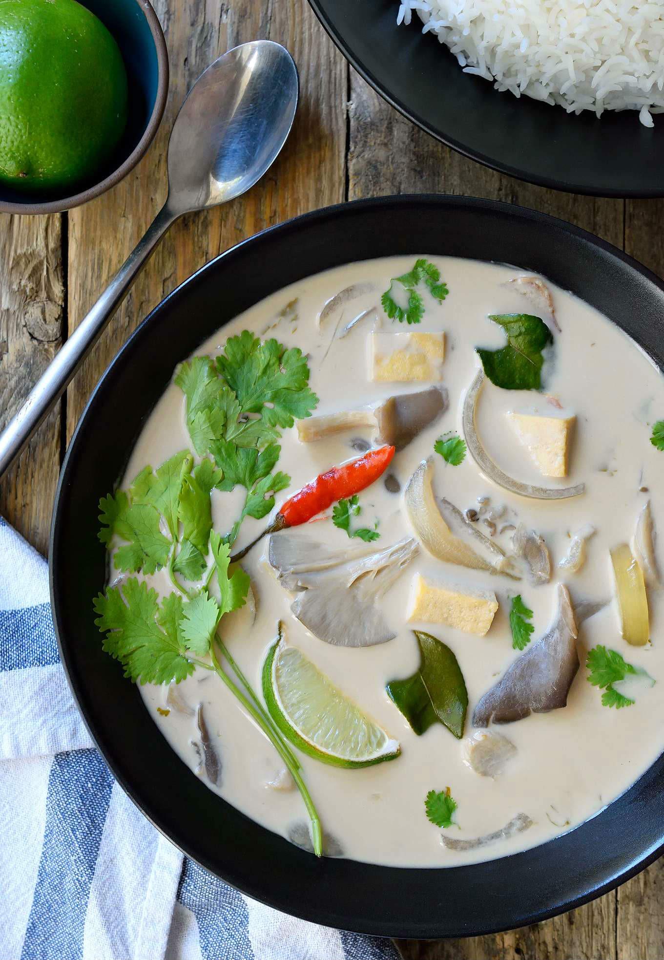 Thai Coconut Soup Recipes  Vegan Thai Coconut Soup