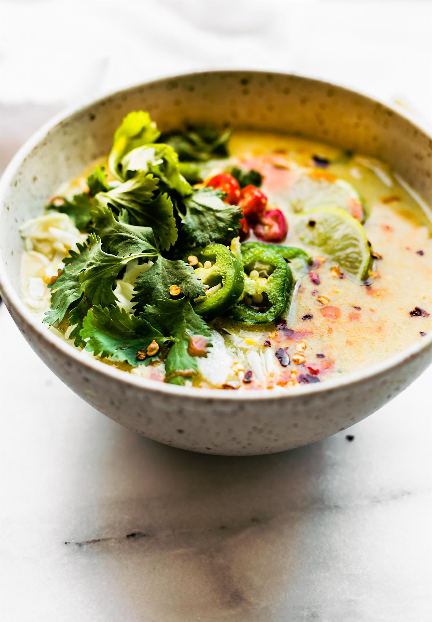 Thai Coconut Soup Recipes  Thai Coconut Milk Soup Recipe Paleo