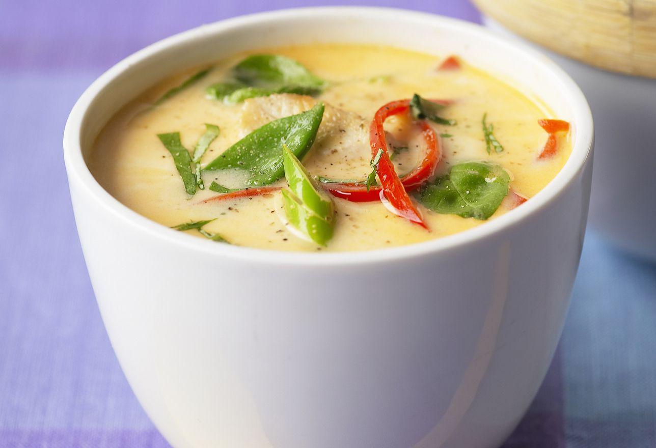 Thai Coconut Soup Recipes  Raw Vegan Thai Coconut Soup Recipe Tom Kha