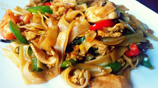 Thai Drunken Noodles  Thai Drunken Noodles – What2Cook