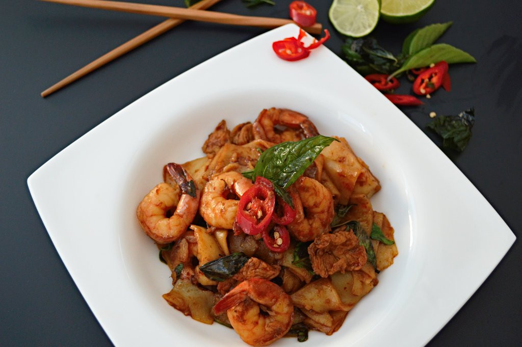 Thai Drunken Noodles  Thai Drunken Noodles Pad Kee Mao Consumption pulsion