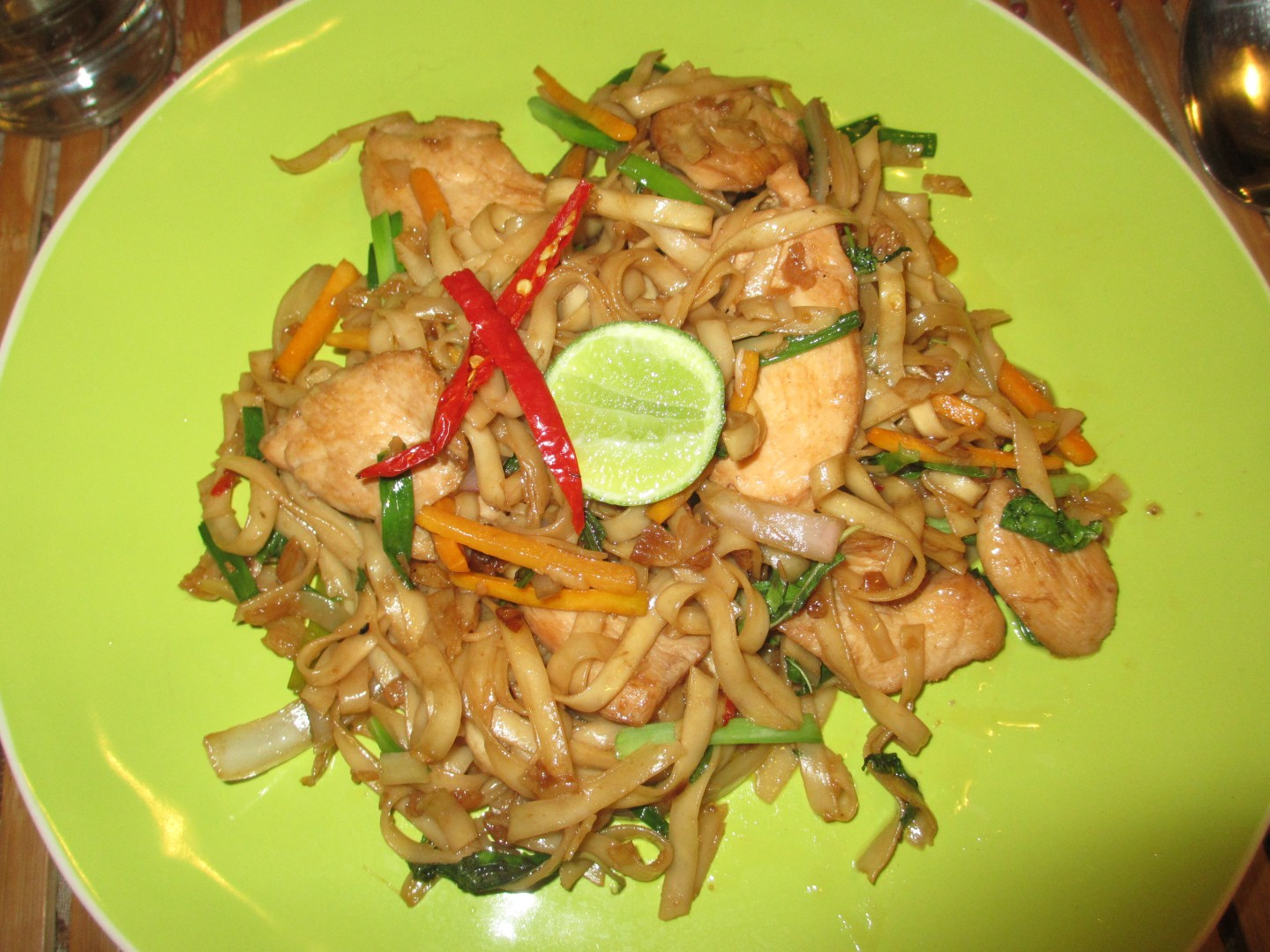 Thai Drunken Noodles  Favorite Places to Eat in Accra – AverySegal