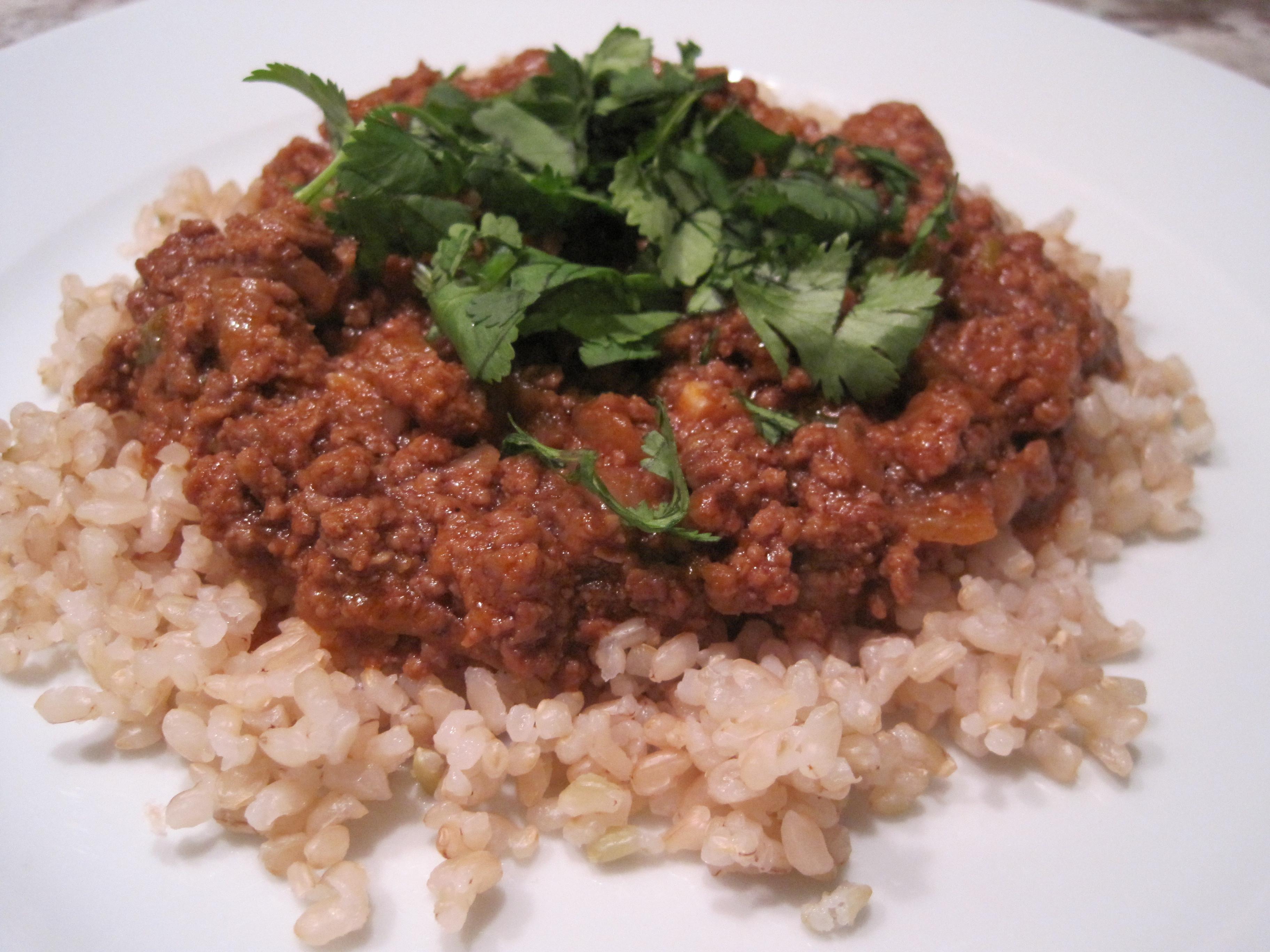 Thai Ground Beef  Recipe Thai Curry Ground Beef Stylish Spoon