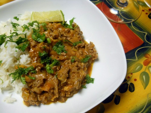 Thai Ground Beef  Mostly Food and Crafts Thai Style Ground Beef