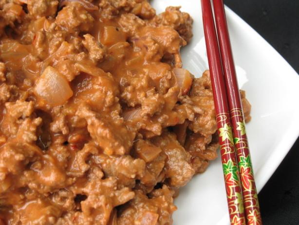 Thai Ground Beef  Thai Style Ground Beef Recipe Food