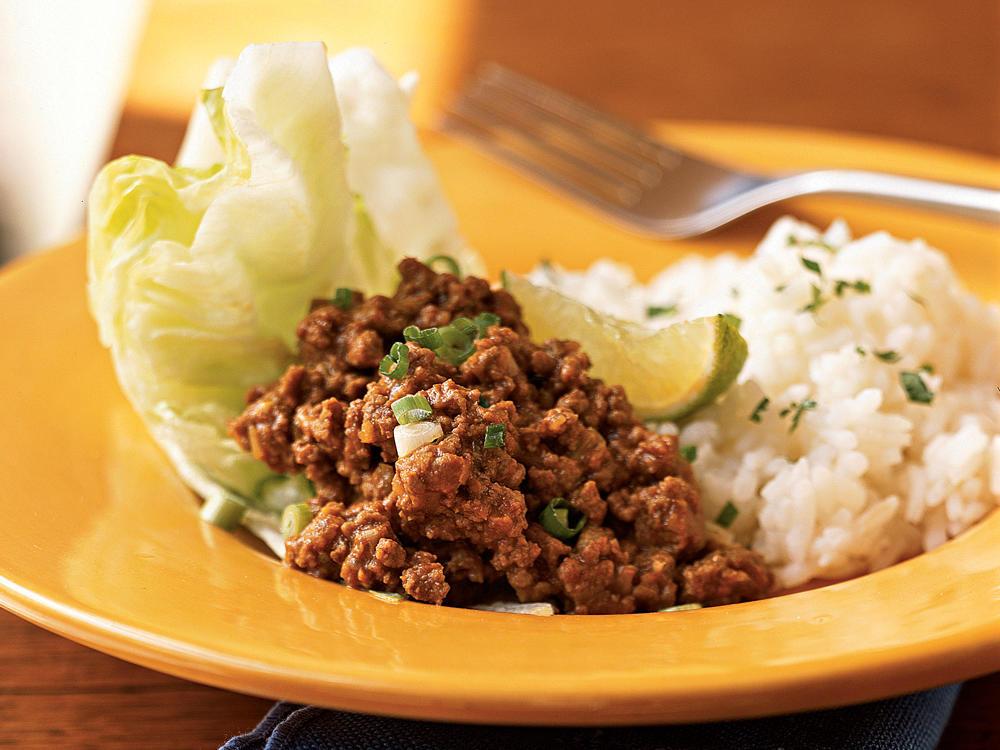Thai Ground Beef  Thai Style Ground Beef Recipe